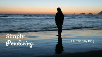 Read: Simply Pondering - our new blog